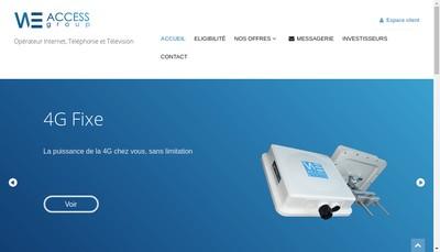 Site internet de Weaccess Group