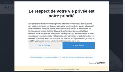 """Site internet de """"Alain Vandamme"""" """"Webcourtier Fr"""""""