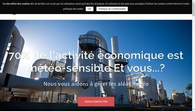 Site internet de Weathernews France