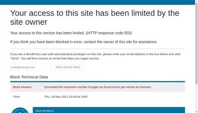 Site internet de Web Alliance