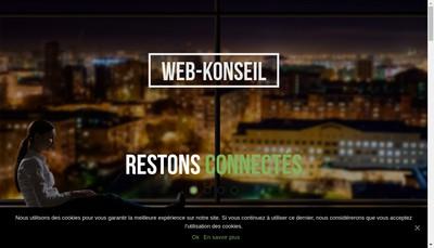 Site internet de Web Konseil