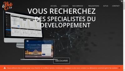 Site internet de Web & Co 2.0