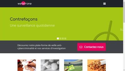 Site internet de Webdrone