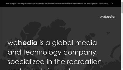 Site internet de Webedia