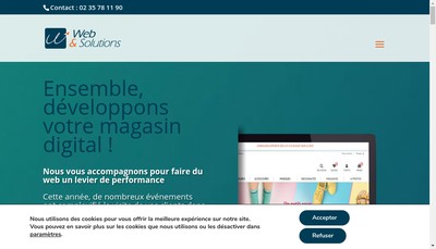 Site internet de Web et Solutions