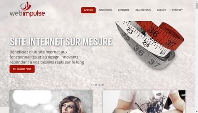 Site internet de Web Impulse