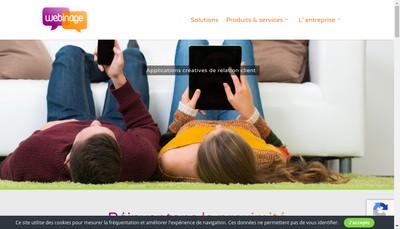Site internet de Webinage