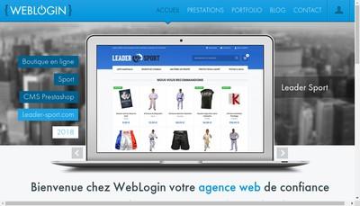 Site internet de Weblogin
