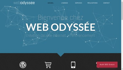 Site internet de Web Odyssee