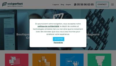 Site internet de Webperfect