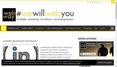 Site internet de Webway