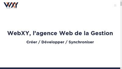 Site internet de Webxy