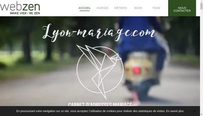Site internet de Webzen Communication