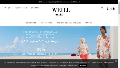 Site internet de Weill