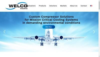 Site internet de Welco Industries