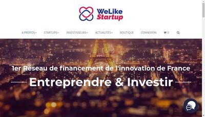 Site internet de Welikestartup