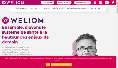 Site internet de Weliom