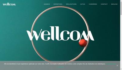 Site internet de Wellcom