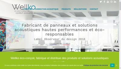 Site internet de Wellko