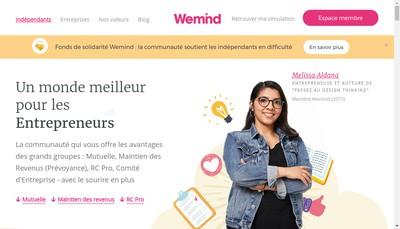 Site internet de Wemind