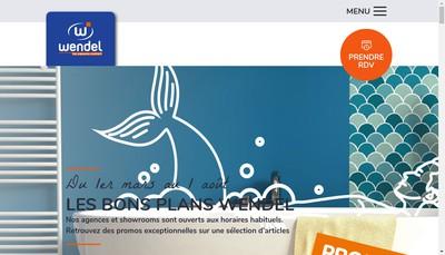 Site internet de Wendel Merignac