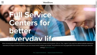 Site internet de Wereldhave Management France