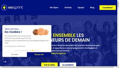 Site internet de Wesprint