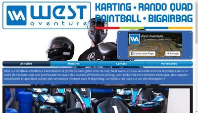 Site internet de West Aventure