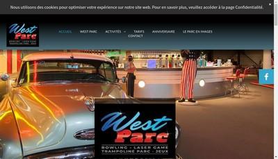 Site internet de West Bowling