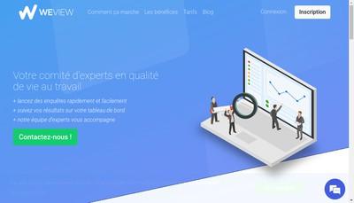 Site internet de Weview