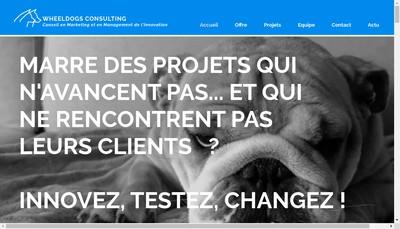 Site internet de Wheeldogs Consulting