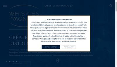 Site internet de Les Whiskies du Monde
