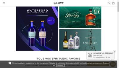 Site internet de La Maison du Whisky