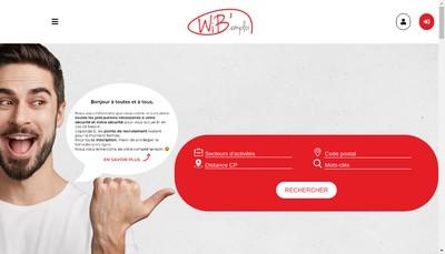 Site internet de Wib Emploi