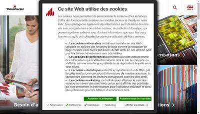 Site internet de Wienerberger Participations