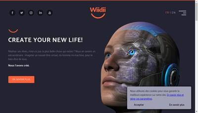 Site internet de Wiidii