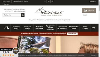Site internet de Wildsteer