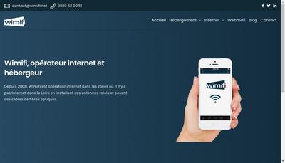 Site internet de Wimifi Systems Telecom And Electronics
