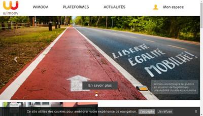 Site internet de Wimoov
