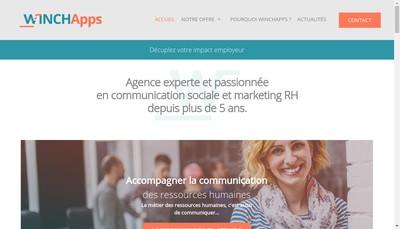 Site internet de Winchapps