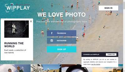 Site internet de Wipplay