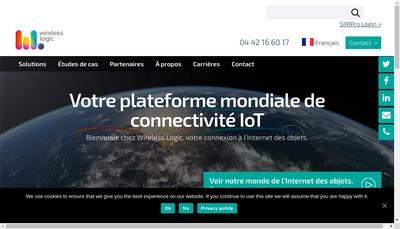 Site internet de Wireless Logic SAS