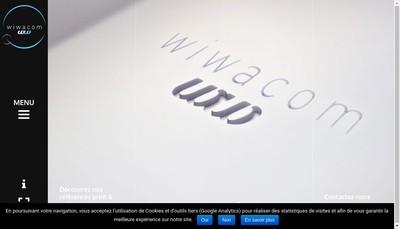 Site internet de Wiwacom