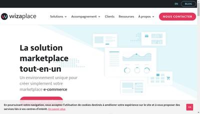 Site internet de Wizaplace