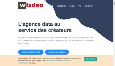 Site internet de Wizdeo