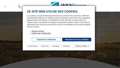 Site internet de Wkn France