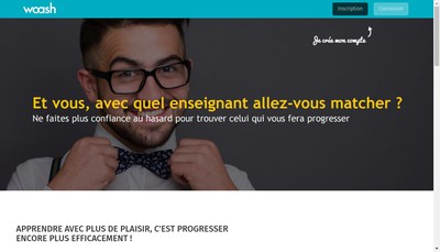 Site internet de Woash