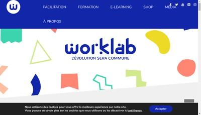 Site internet de Worklab