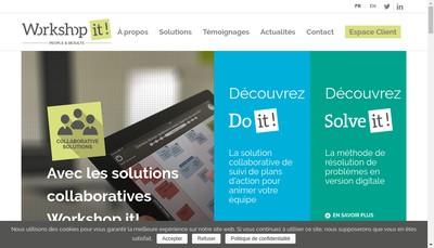 Site internet de Workshop It