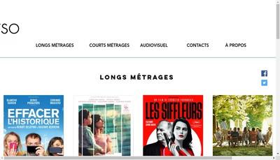 Site internet de Les Films du Worso